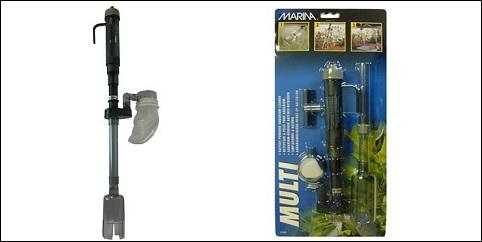 Distributeur chauffage aspirateur pour aquarium for Aspirateur aquarium