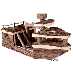 Bateau de pirates pour rongeurs