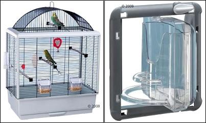 Cage à Oiseaux Palladio