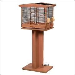 Cage Natasha pour perruches et canaris