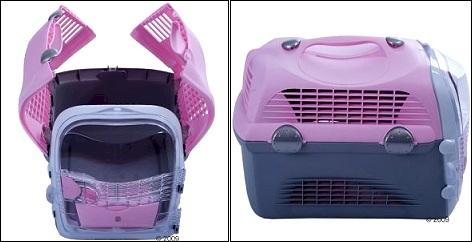 Cage de transport pour chat Pet Cargo