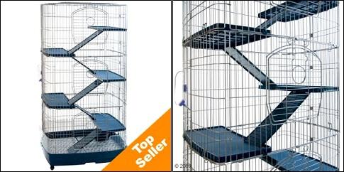 Cage pour rongeur Tridoor