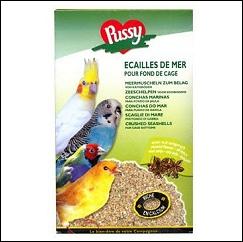 Ecailles de mer pour cage à oiseaux
