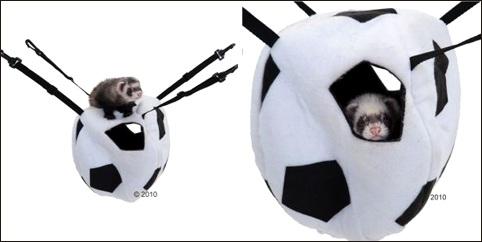 Hamac pour furet Soccer