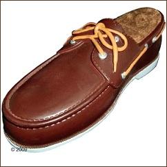 Jouet chien en forme de chaussure