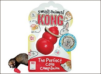 Jouet Kong pour furet