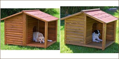 Niche chien Natura avec terrasse