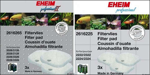 Ouate filtrante pour aquarium