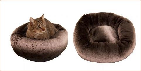 Panier chat et chien Brown Plush