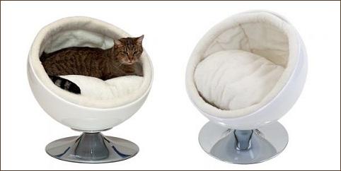 Panier pour chat Retro