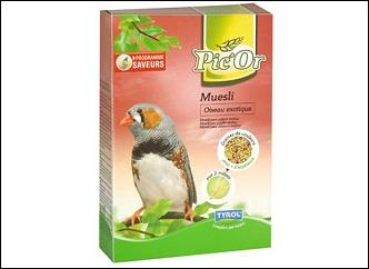 Pic'Or aliment pour oiseaux exotiques