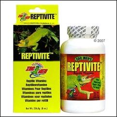 Reptivite pour reptile