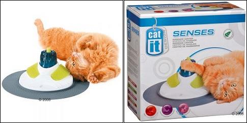Station de massage pour chats