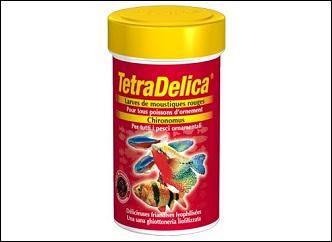 Tetra Delica larves de moustiques pour poissons