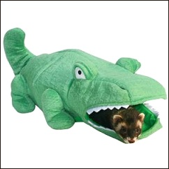 Tunnel de jeu pour furet Alligator