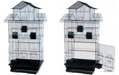 Cages pour oiseaux et perroquets voli res for Voliere exterieur occasion